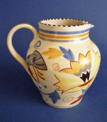 Poole Pottery ZH Pattern Jug by Truda Carter c1935